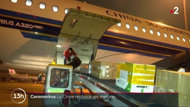 Coronavirus : la Chine renforce ses mesures