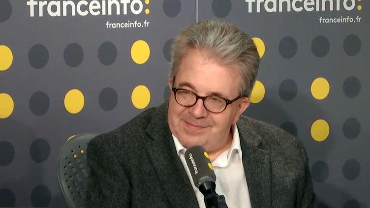 Christian Lequesne, professeur à Sciences Po, invité sur franceinfo mercredi 16 janvier. (FRANCEINFO)