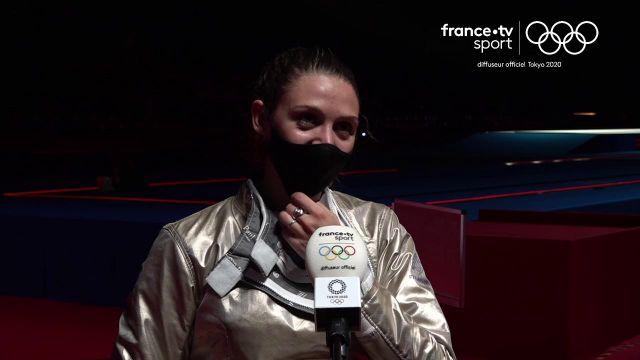 Manon Brunet a conjuré le sort après sa quatrième place frustrante aux JO de Rio, avec une belle médaille de bronze au sabre.