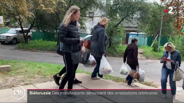 Biélorussie : des manifestants dénoncent des arrestations arbitraires