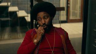 "Image extraite du film ""BlacKkKlansman"", de Spike Lee. (FRANCE 2)"