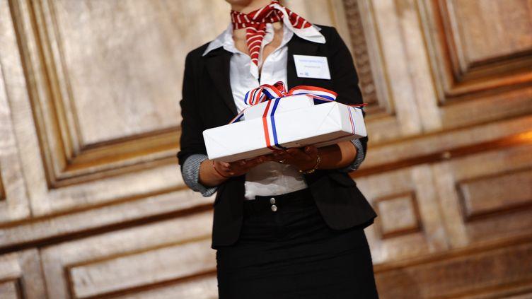 Remise des prix du concours general à la Sorbonne. (MAXPPP)
