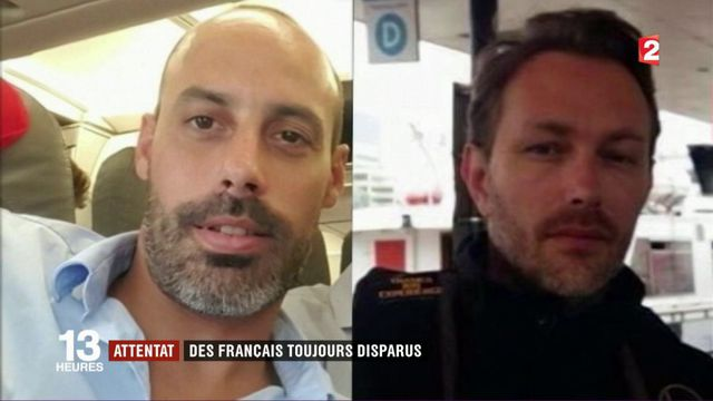 Attentat : deux Français toujours portés disparus