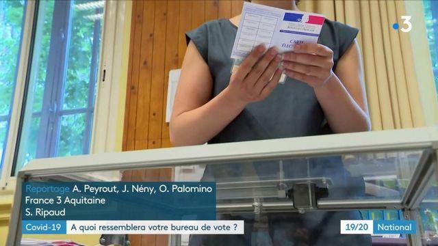 Élections municipales : les bureaux de vote se préparent avec des mesures d'hygiène particulières