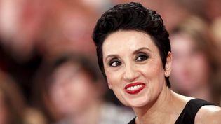 """Luz Casal en décembre 2011 lors de l'enregistrement de l'émission """"Vivement dimanche"""" sur France 2  (PHOTOPQR/LE PARISIEN/Frédéric Dugit)"""