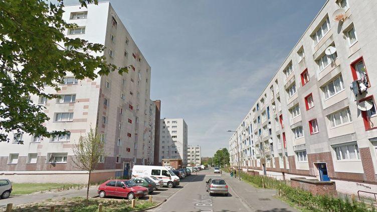 Un homme a été touché par balle, dans le quartier de Lille-Sud, jeudi 11 juin 2015. (GOOGLE MAPS / FRANCETV INFO )