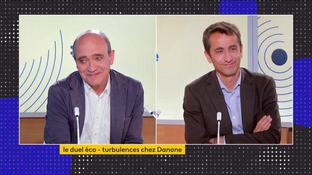 Le duel éco : les turbulences chez Danone, le poste de PDG scindé en deux