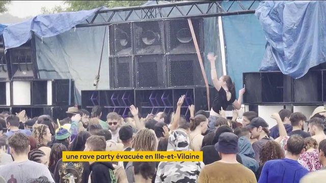 Ille-et-Vilaine : la rave party illégale évacuée à Redon