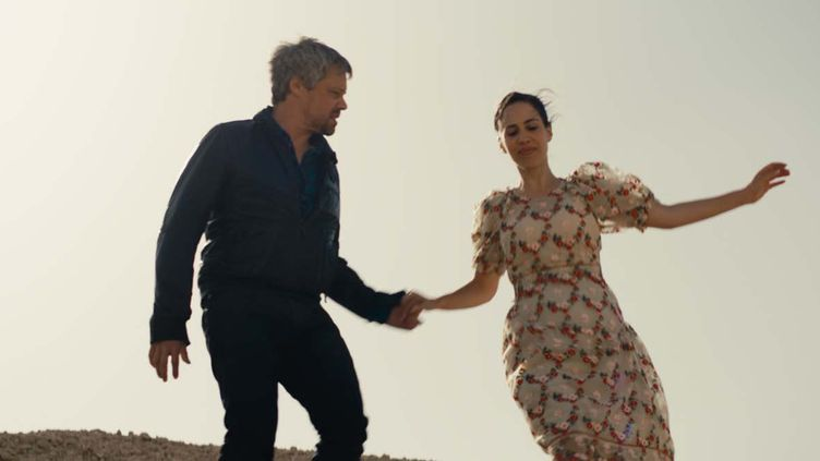 """Avshalom Pollak et Nur Fibak dans """"Le Genou d'Ahed"""" de Navad Lapid. (PYRAMIDE FILMS)"""