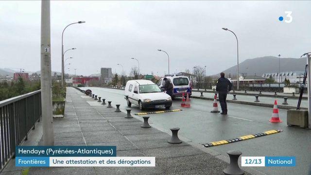 Covid-19 : attestations et dérogations obligatoires aux frontières de la France