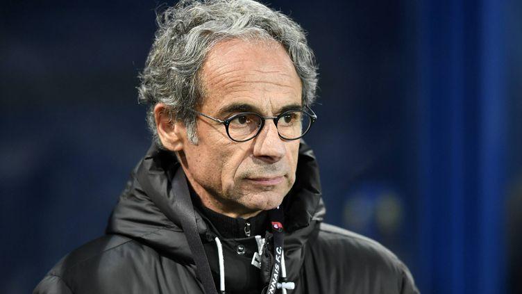 Marc Westerloppe, lors de la 26e journée du Championnat de France de football de Ligue 1, le 17 février 2018 à Caen (Calvados). (PHILIPPE RENAULT / MAXPPP)