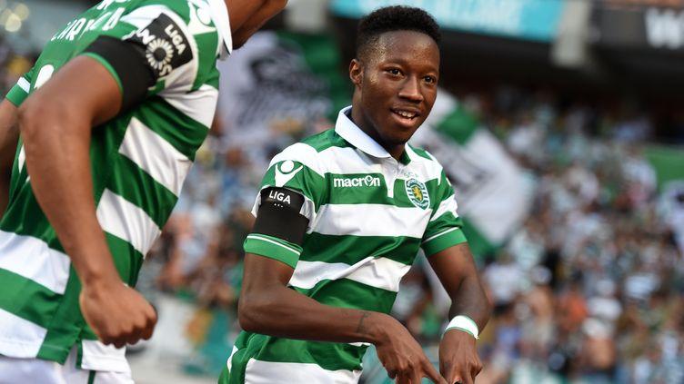 Carlos Mané, l'attaquant du Sporting Portugal (FRANCISCO LEONG / AFP)