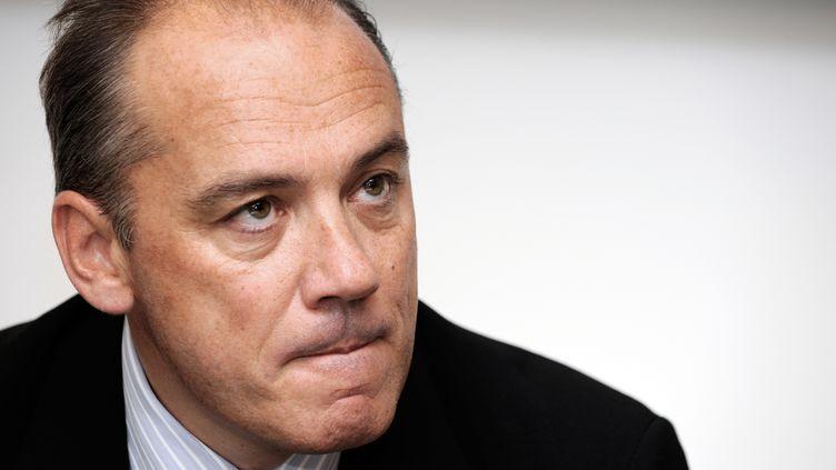 Stéphane Richard, l'actuel PDG d'Orange, le8 octobre 2009 à Bordeaux (Gironde). (JEAN-PIERRE MULLER / AFP)