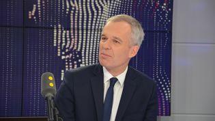 François de Rugy, président de l'Assemblée nationale. (JEAN-CHRISTOPHE BOURDILLAT / RADIO FRANCE)