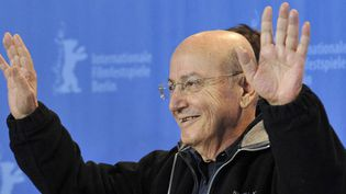 Theo Angelopoulos le 12 février 2009 à Berlin  (John MacDougall / AFP)