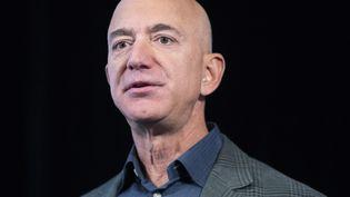 Le fondateur et PDG d'Amazon,Jeff Bezos, en septembre 2019. (MICHAEL REYNOLDS / EPA)