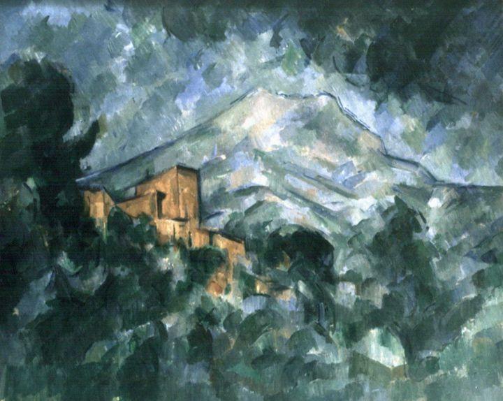 La Montagne Sainte Victoire peinte par Paul Cézanne  (DELAGE HENRI/SIPA)