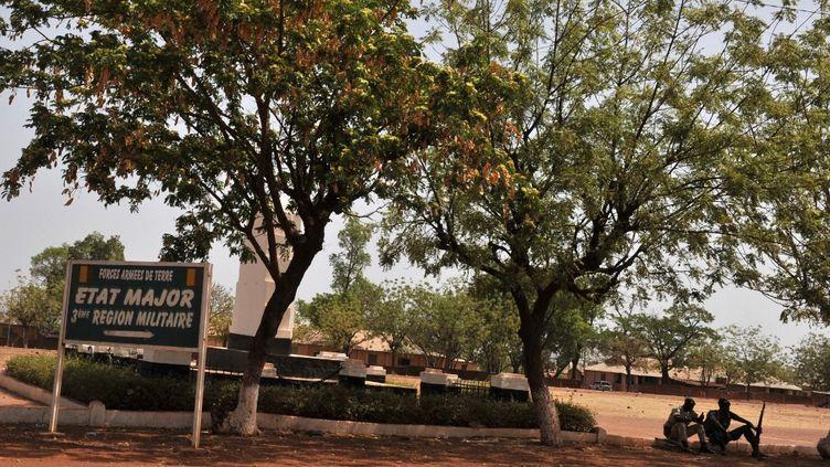 Le camp militaire de Kati, à 15 km au nord-ouest de Bamako, le 1er avril 2012. (ISSOUF SANOGO / AFP)