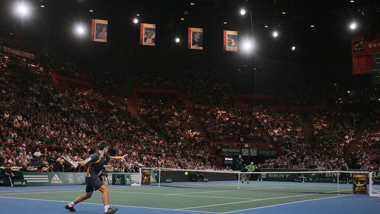 Djokovic face à Nadal à Paris - Bercy en 2009 (JACQUES DEMARTHON / AFP)