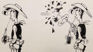 Un cow boy solitaire de 70 ans (et qui ne les fait pas !)  (Lucky Comics)