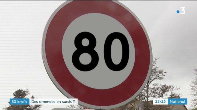 Limitation à 80 km/h : des amendes en sursis?