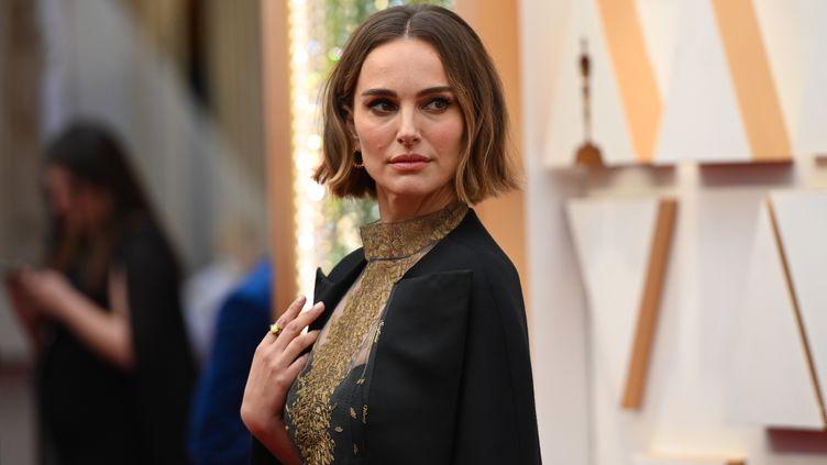 L'actrice Natalie Portman, à la 92e cérémonie des Oscars, le 9 février 2020. (ROBYN BECK / AFP)