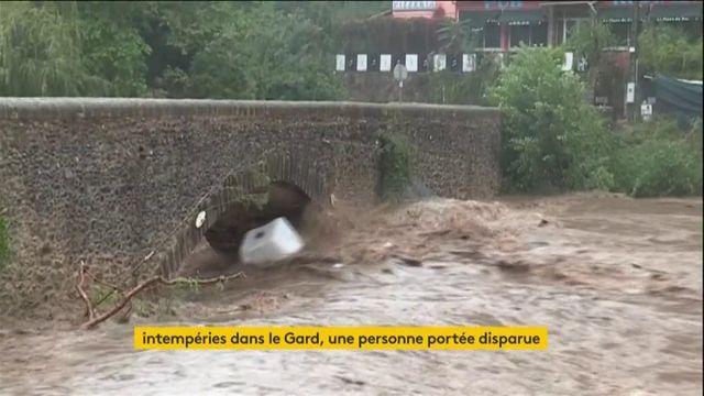 """gard: inondations de """"très grande ampleur"""", une personne disparue"""