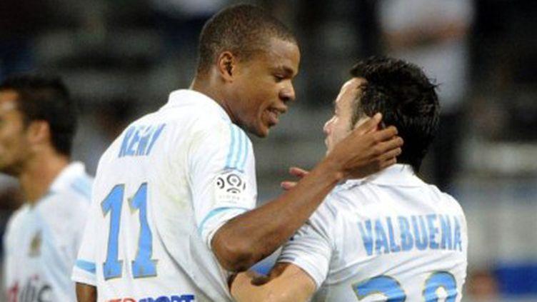 Loïc Rémy et Mathieu Valbuena, les fers de lance de Marseille