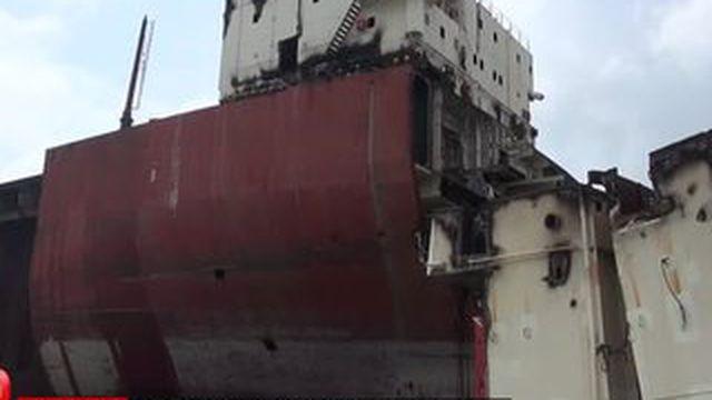 Les coulisses du plus grand cimetière de bateaux du monde