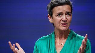 Margrethe Vestager, vice-présidente exécutive de la Commission européenne (KENZO TRIBOUILLARD / AFP)