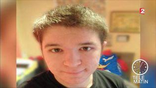 Sébastien Troadec, 21 ans, a disparu avec sa famille près de Nantes (France 2)