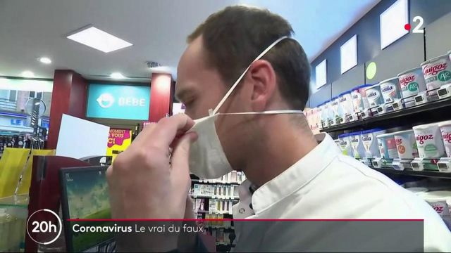 Coronavirus : les idées reçues sur les risques de contamination