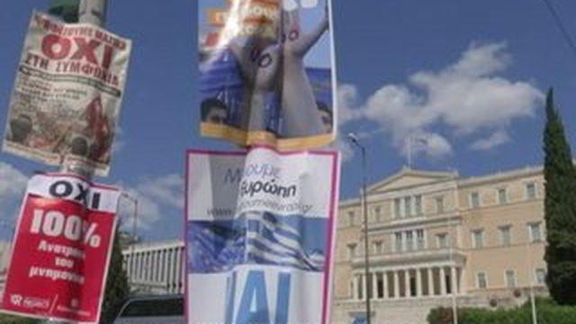 Les Grecs suspendus au verdict des urnes