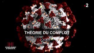 """Le Covid-19 peut-il être une création de l'homme ? """"Complément d'enquête"""" sur une théorie du complot (COMPLÉMENT D'ENQUÊTE/FRANCE 2)"""
