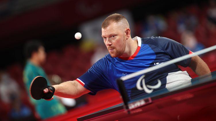 Fabien Lamirault vise une médaille d'or paralympique, lundi 30 août 2021 à Tokyo. (G.PICOUT / FRANCE PARALYMPIQUE)