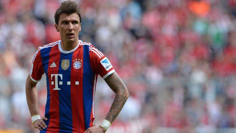 Mario Mandzukic, l'attaquant croate, va découvrir un nouveau championnat après la Bundesliga