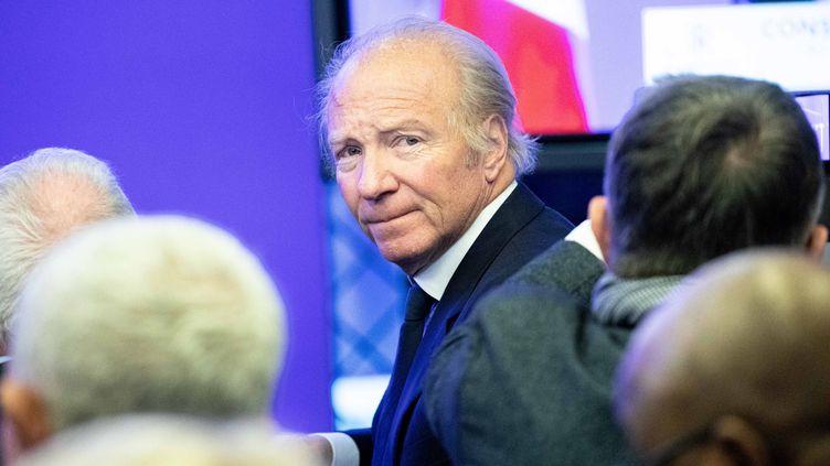 L'ancien ministre Brice Hortefeux, le 30 novembre 2019, au siège des Républicains, à Paris. (MAXPPP)