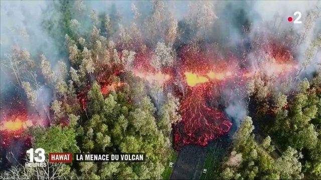 Hawaï : la menace du volcan Kilauea