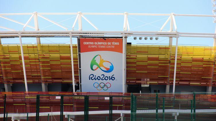 L'enceinte de tennis à Rio se situe dans la zone de Barra (LUIZ SOUZA / NURPHOTO)