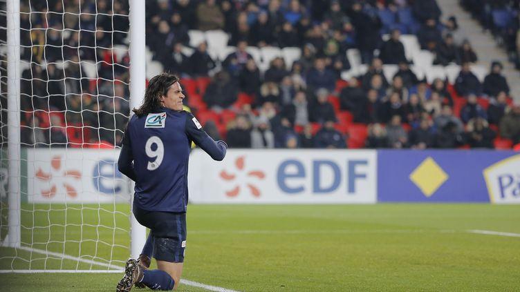 Edinson Cavani, l'attaquant du PSG. (STEPHANE ALLAMAN / STEPHANE ALLAMAN)