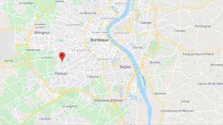 Avenue Carnot à Mérignac (Gironde).  (GOOGLE MAPS)