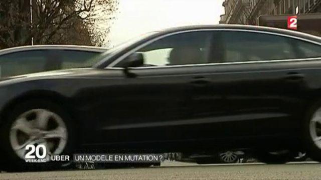Uber : un modèle en mutation