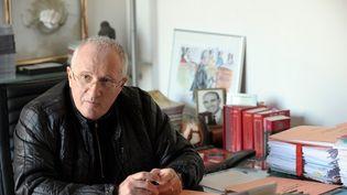 L'avocat Antoine Sollacaro dans son cabinet d'Ajaccio (Corse-du-Sud), en janvier 2010. (STEPHAN AGOSTINI / AFP)