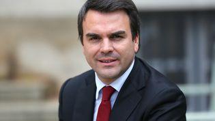 Thomas Thévenoud, le 30 octobre 2012 à Paris. (THOMAS SAMSON / AFP)
