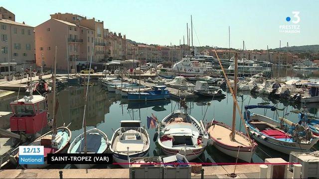 Confinement : calme plat à Saint-Tropez
