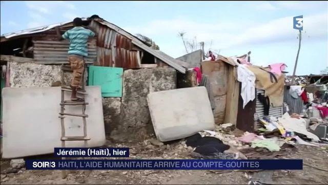 Ouragan Matthew : l'aide humanitaire commence à arriver en Haïti