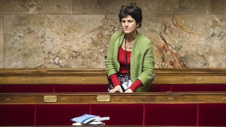 Delphine Bagarry à l'Assemblée nationale en février 2020. (VINCENT ISORE / MAXPPP)
