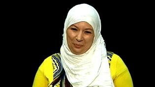 "Samia Orosemane dans son ""Message aux djihadiste"".  (France 3)"