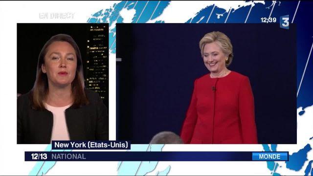 Premier débat télévisé : Hillary Clinton sort gagnante du face-à-face
