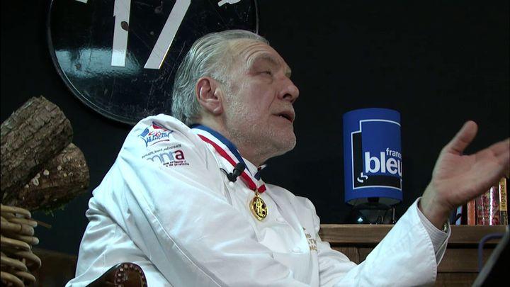 Joël Mauvigney, Meilleur Ouvrier de France, président de la fédération nataionale des Charcutiers et charcutiers-traiteurs. (RF / France Bleu)